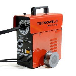 Poweltek Poste à souder MIG sans gaz 98 Ampères